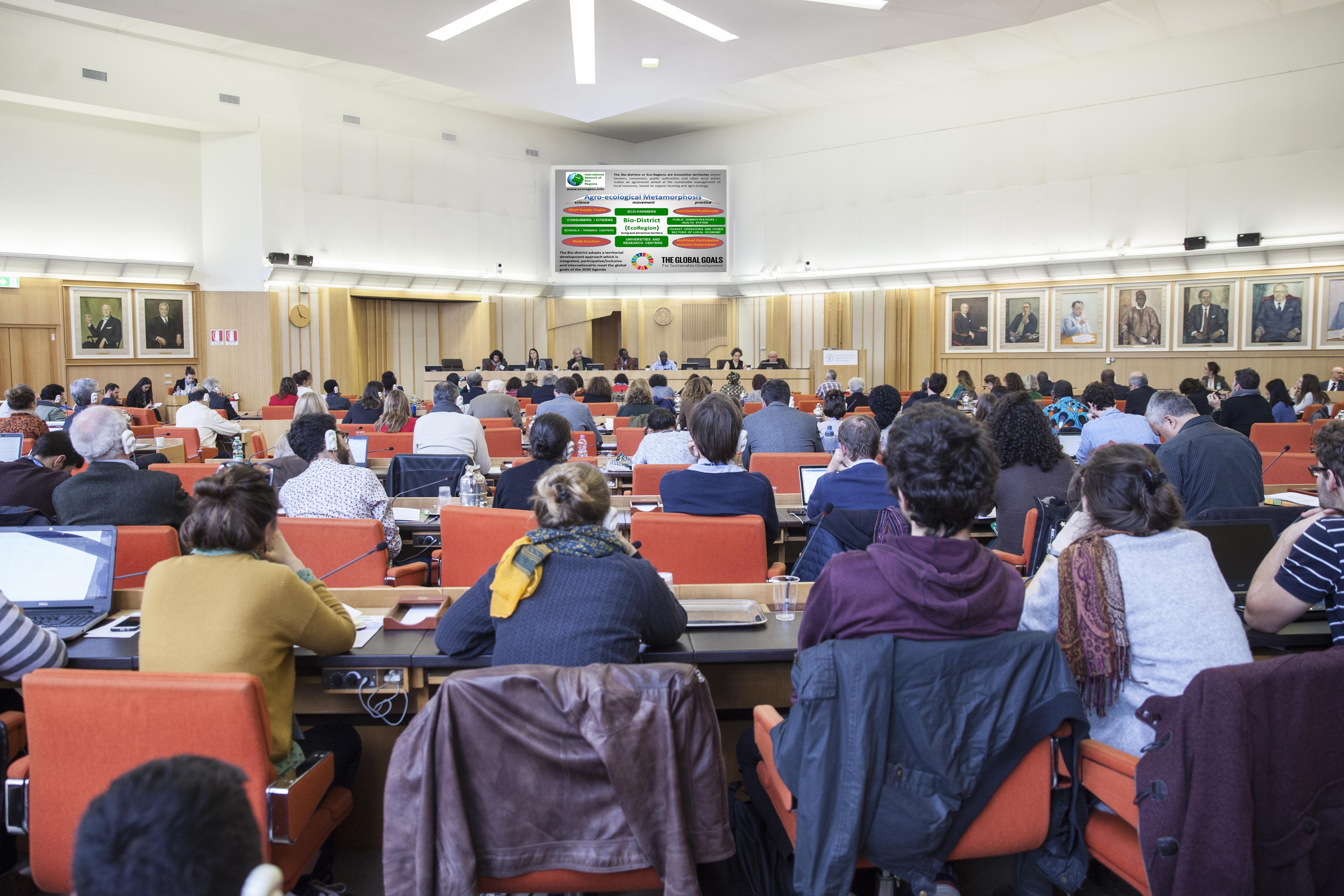 Smposio Internazionale Agroecologia FAO Roma 2018